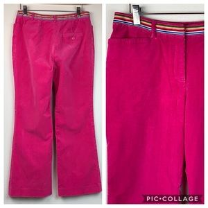 Lilly Pulitzer corduroy fine wale stretch trousers